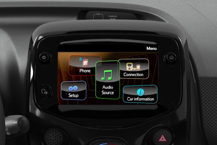 Audio-System DAB, 4 Lautsprecher inkl. Touchscreen