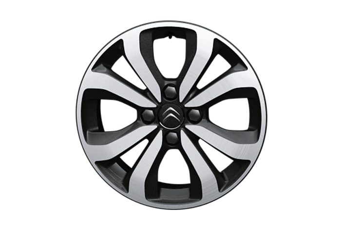 "15"" 'Planet' alloy wheels"