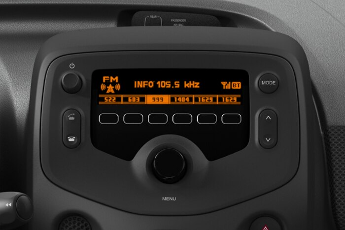 Radio MP3 + Toma USB + Bluetooth