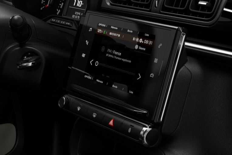 Audiosystem mit Touchscreen und Mirror Screen
