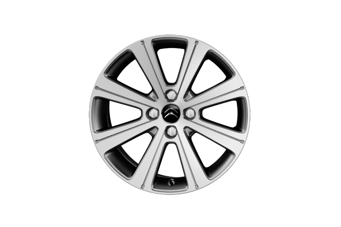17 inch 'Miami' alloy wheels with space saver spare wheel
