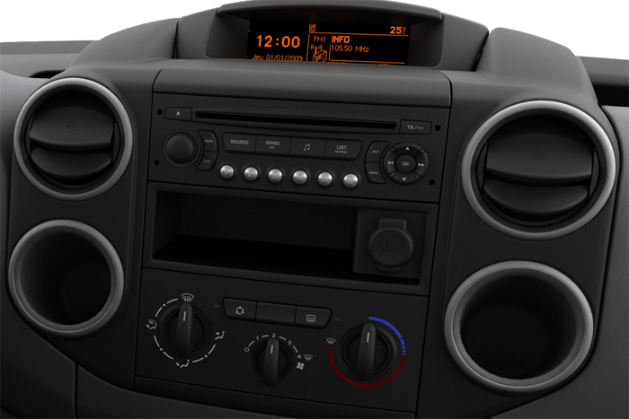 Audio sistem RD4 CD in  MP3 predvajalnikom