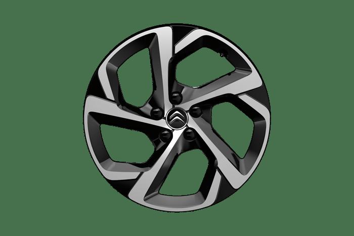 18 inch 'Swirl' two tone diamond cut alloy wheels
