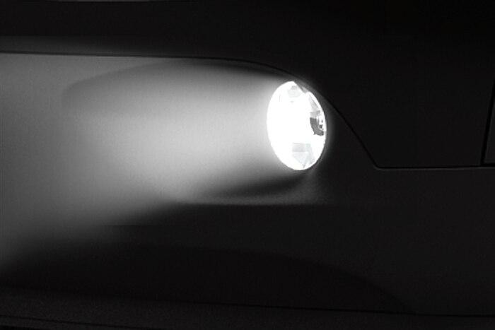 Reflektory przeciwmgłowe z funkcją doświetlania zakrętów