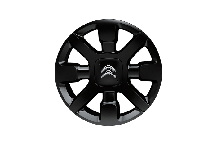 17 inch black 'Cross' alloy wheels