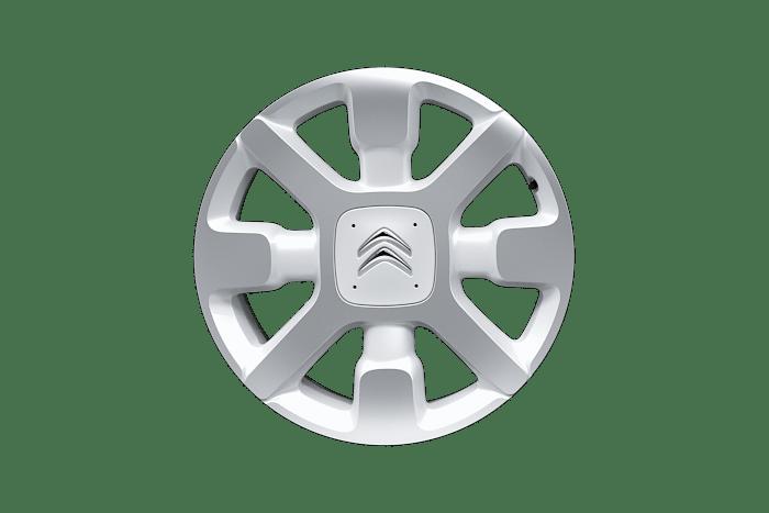 Obręcze aluminiowe 17'' CROSS srebrno-czarne