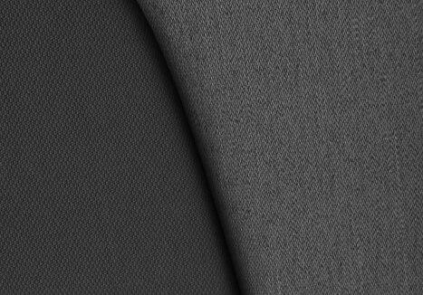 Tissu Milazzo - Harmonie Noir/Gris