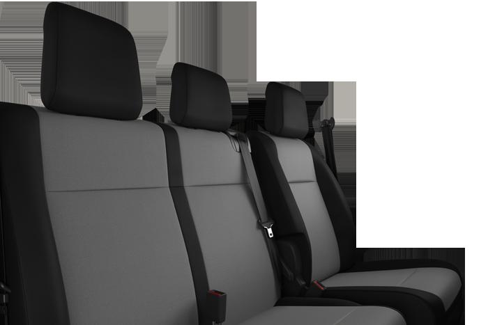 Fotel kierowcy + Ławka pasażera dwumiescowa