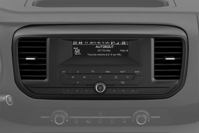 Radio met USB en Bluetooth