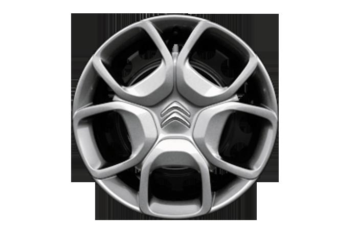 """Oceľové 17"""" disky kolies čierne + Grip Control + špeciálne pneumatiky M&S"""