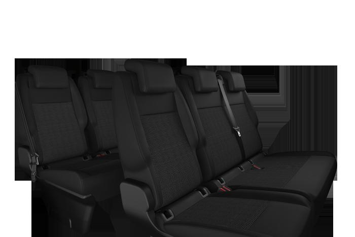 3a. fila: sedile frazionati 2/3- 1/3