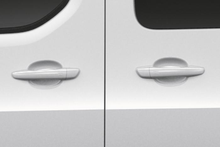 Правая и левая боковые сдвижные двери