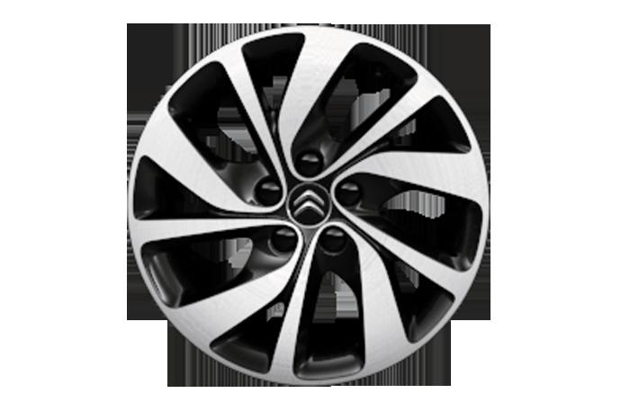 Легкосплавные алюминиевые диски BLACK DIAMOND Citroen + Шины Michelin Agilis Alpin M+S