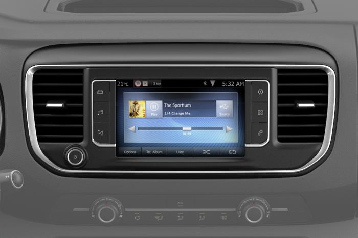 Citroën Connect Radio (RCC A2) z ekranem dotykowym