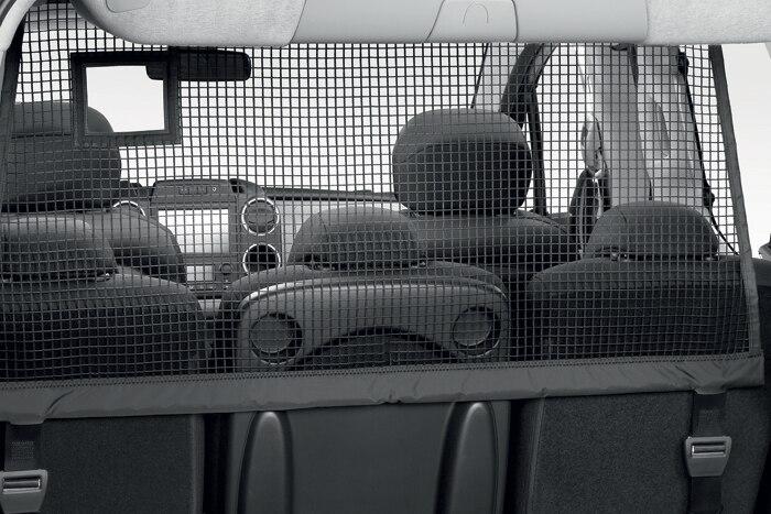 Výsuvná vertikální síť v zavazadlovém prostoru