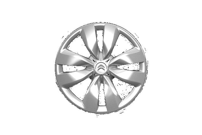 """Oceľové disky kolies 15"""" s krytom Astérodea"""