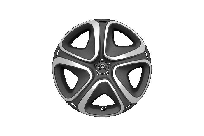 """Ukrasni 3D poklopci kotača 16"""" + rezervni kotač smanjenih dimenzija"""