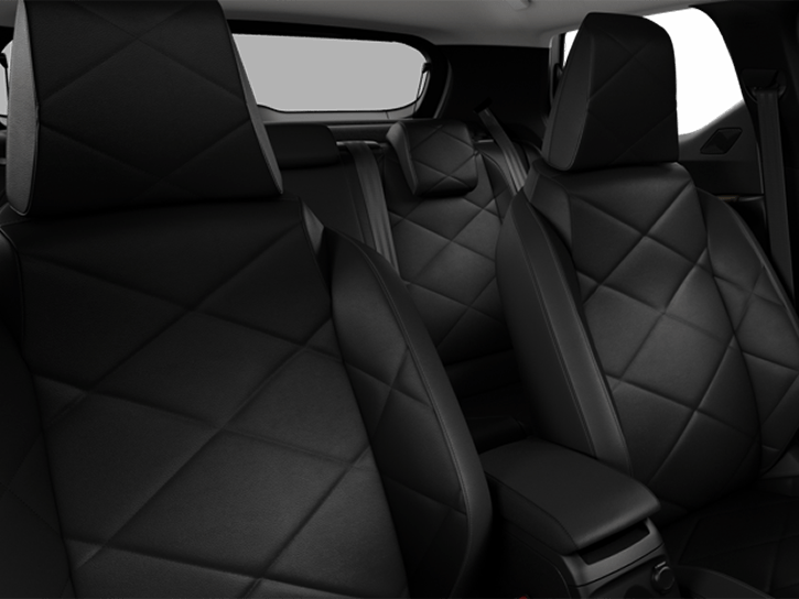 BASTILLE LEATHER - Black Basalt grained leather seats. Bronze decor. Light Grey interior roof
