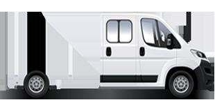JUMPER Châssis double-cabine