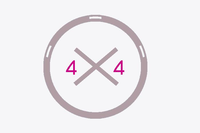 Prédisposition pour transformation 4x4 DANGEL