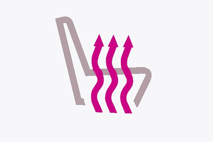 Sedile conducente riscaldato + sedile passeggero indipendente