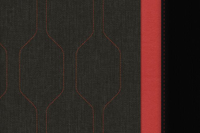 N1 - Tapiterie textila Univers 2B (Urban Red)